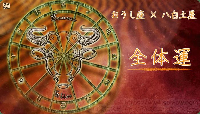 おうし座×八白土星【全体運】