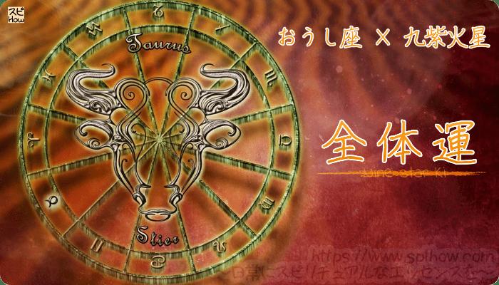 おうし座×九紫火星【全体運】