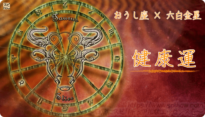 おうし座×六白金星【健康運】