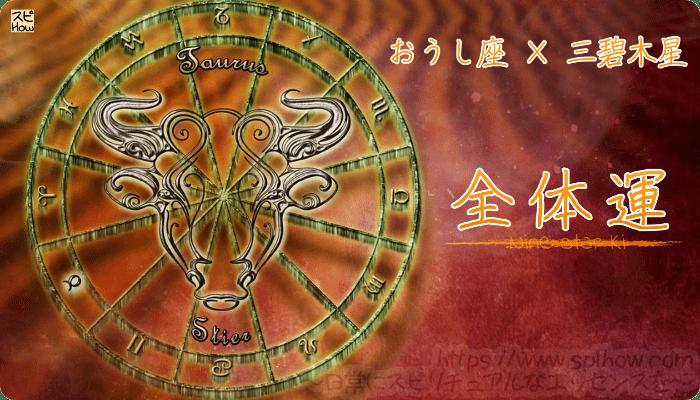 おうし座×三碧木星【全体運】