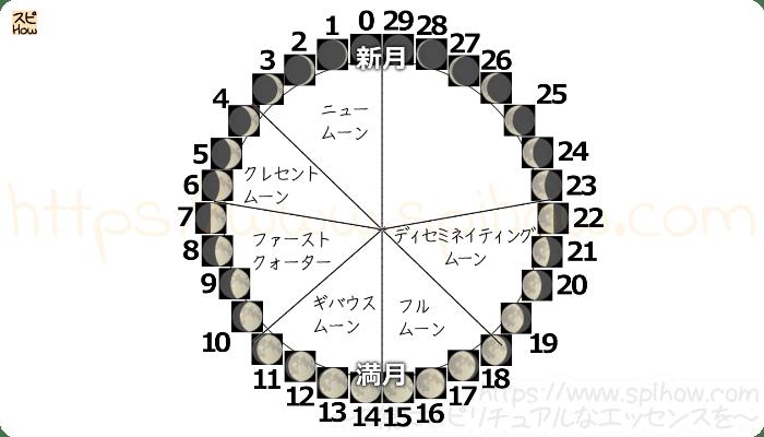 月齢サイクル図10