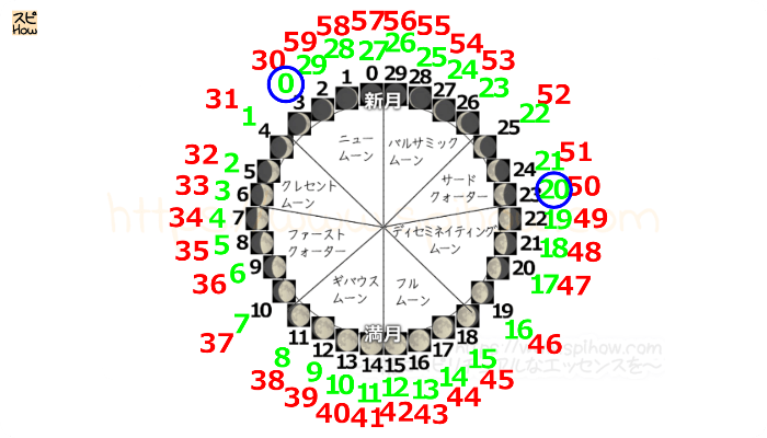 月齢サイクル図14