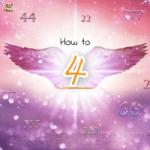 エンジェルナンバーの「4」は天使の数字!4を意識して天使とつながる方法
