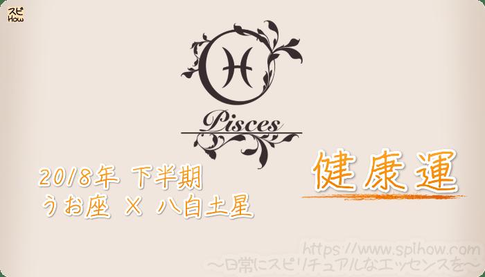 うお座×八白土星の2018年下半期の運勢【健康運】