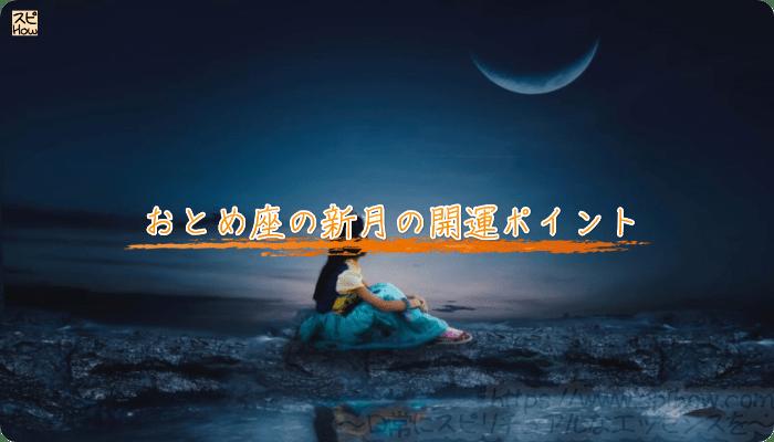 おとめ座の新月の開運ポイント