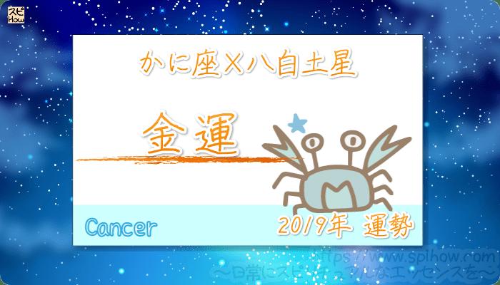 かに座×八白土星の2019年の運勢【金運】