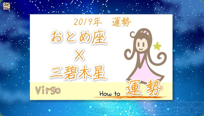 九星気学で占うおとめ座×三碧木星の2019年の運勢