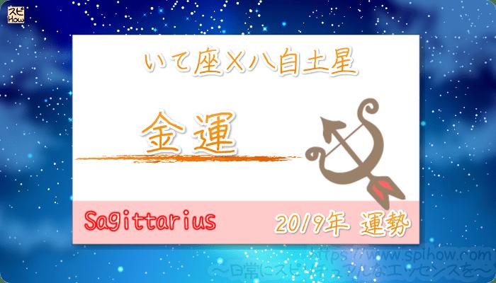 いて座×八白土星の2019年の運勢【金運】