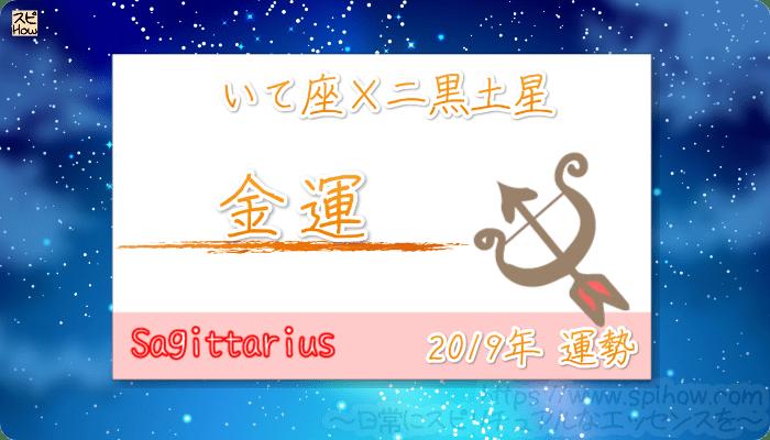 いて座×二黒土星の2019年の運勢【金運】
