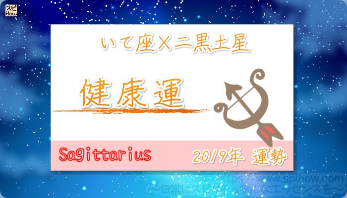 いて座×二黒土星の2019年の運勢【健康運】