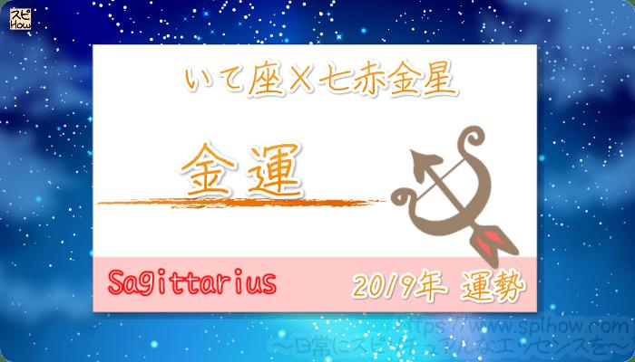 いて座×七赤金星の2019年の運勢【金運】