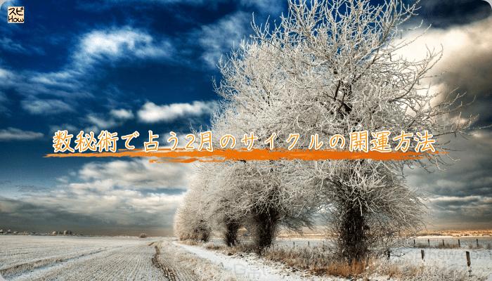 数秘術で占う2月のサイクルの開運方法