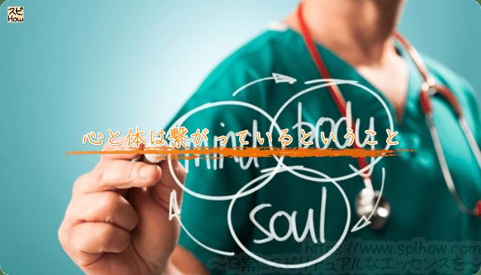 心と体は繋がっているということ