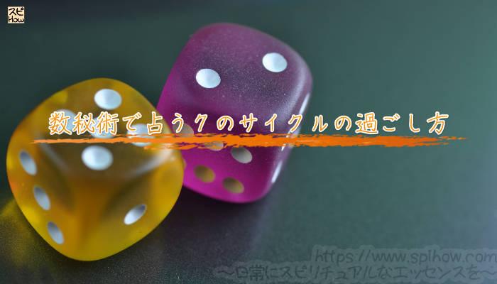 数秘術で占う7のサイクルの過ごし方