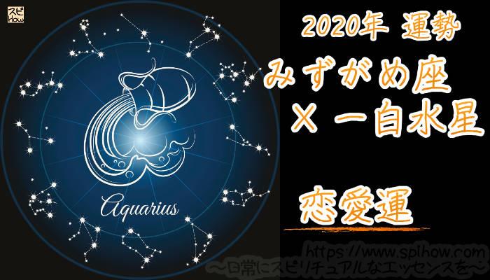 【恋愛運】みずがめ座×一白水星【2020年】のアイキャッチ画像