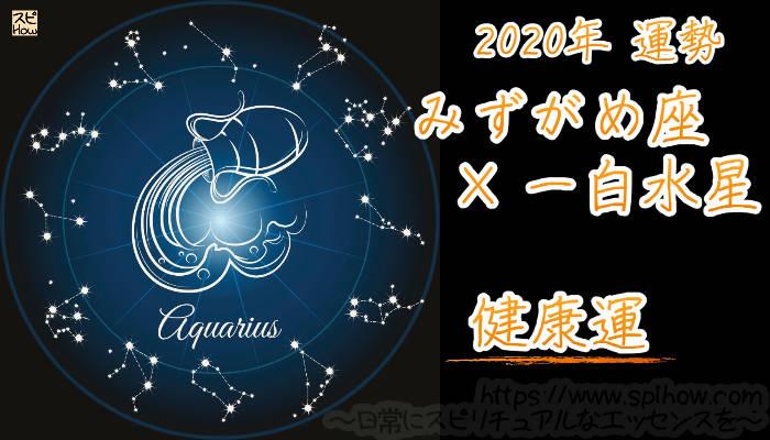 【健康運】みずがめ座×一白水星【2020年】のアイキャッチ画像