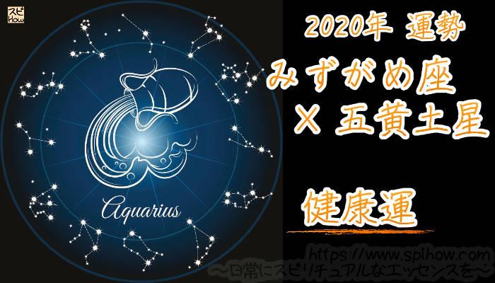 【健康運】みずがめ座×五黄土星【2020年】のアイキャッチ画像