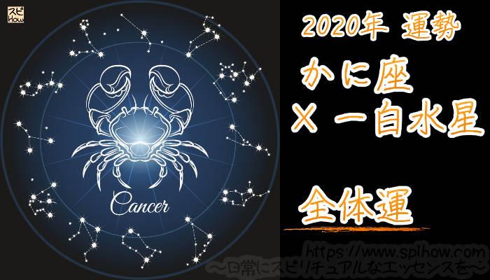 【全体運】かに座×一白水星【2020年】のアイキャッチ画像