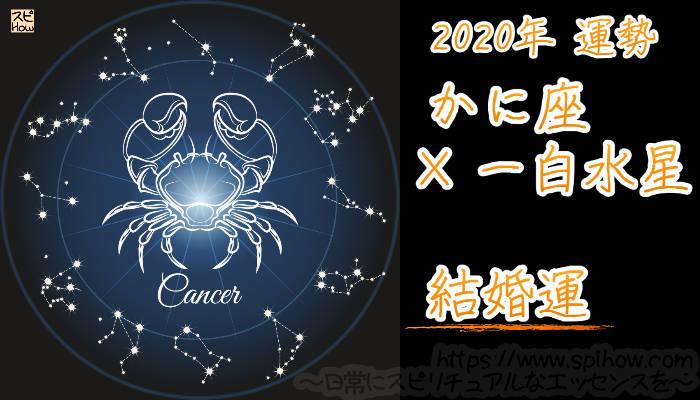 【結婚運】かに座×一白水星【2020年】のアイキャッチ画像