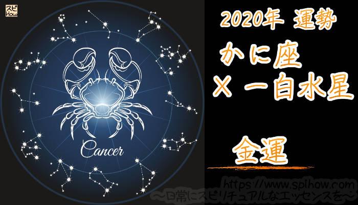 【金運】かに座×一白水星【2020年】のアイキャッチ画像
