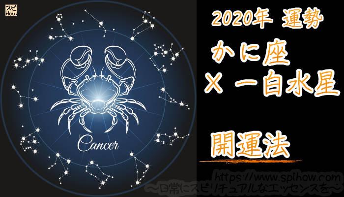 【開運アドバイス】かに座×一白水星【2020年】のアイキャッチ画像