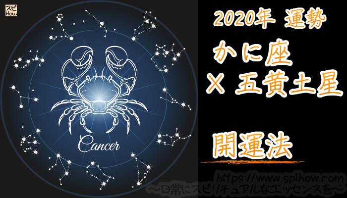 【開運アドバイス】かに座×五黄土星【2020年】のアイキャッチ画像