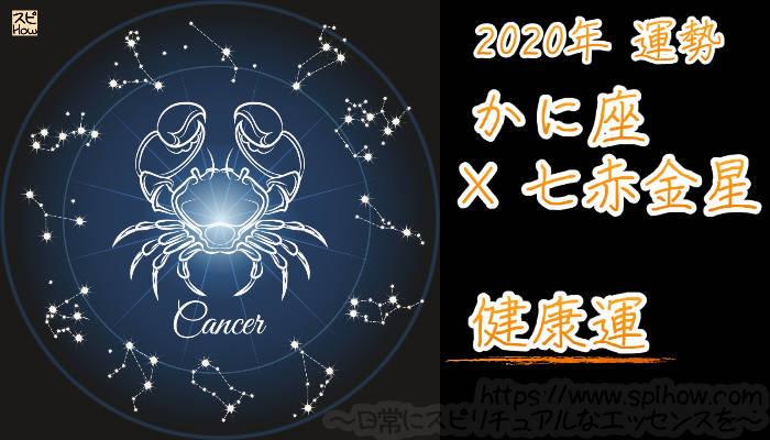 【健康運】かに座×七赤金星【2020年】のアイキャッチ画像