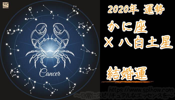 【結婚運】かに座×八白土星【2020年】のアイキャッチ画像