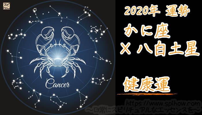 【健康運】かに座×八白土星【2020年】のアイキャッチ画像