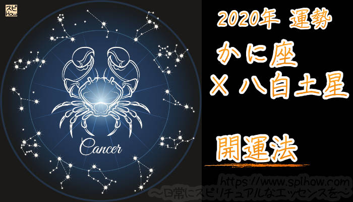 【開運アドバイス】かに座×八白土星【2020年】のアイキャッチ画像