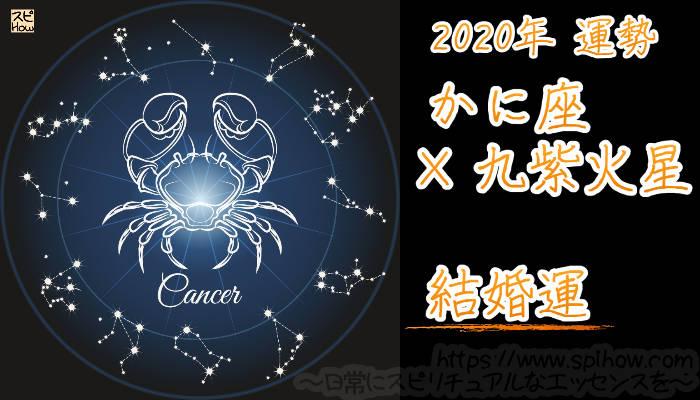 【結婚運】かに座×九紫火星【2020年】のアイキャッチ画像