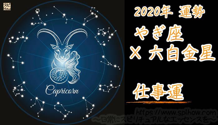 【仕事運】やぎ座×六白金星【2020年】のアイキャッチ画像