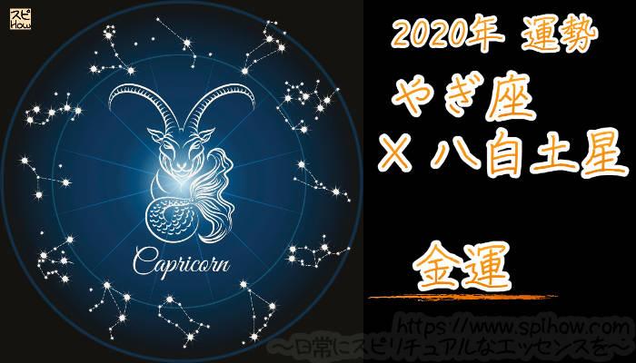 【金運】やぎ座×八白土星【2020年】のアイキャッチ画像