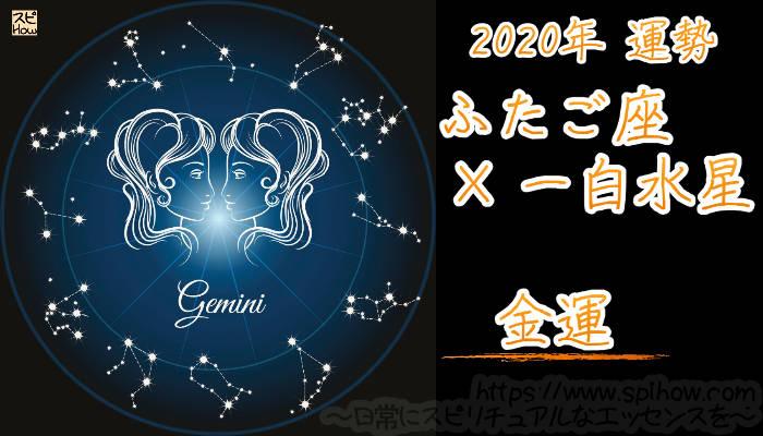 【金運】ふたご座×一白水星【2020年】のアイキャッチ画像