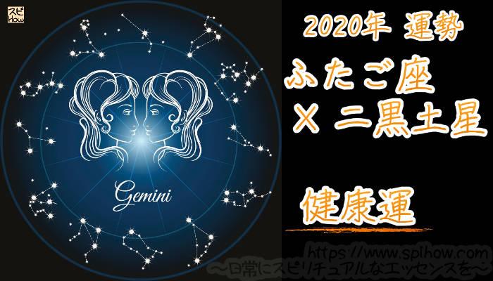 【健康運】ふたご座×二黒土星【2020年】のアイキャッチ画像
