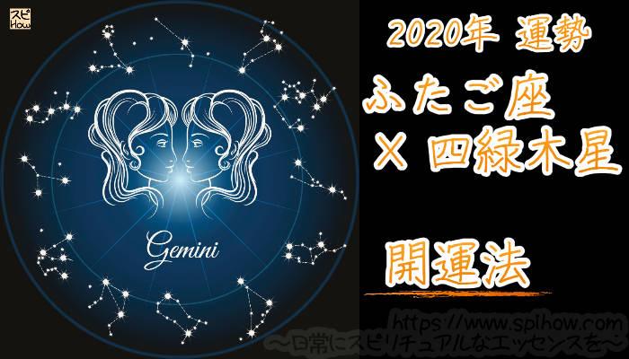 【開運アドバイス】ふたご座×四緑木星【2020年】のアイキャッチ画像
