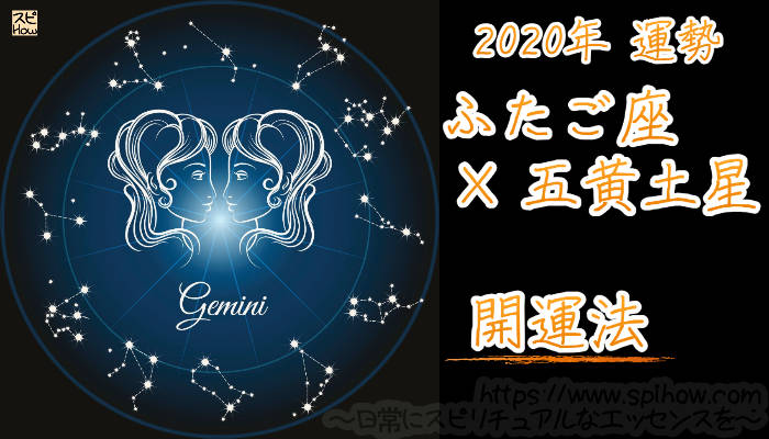 【開運アドバイス】ふたご座×五黄土星【2020年】のアイキャッチ画像