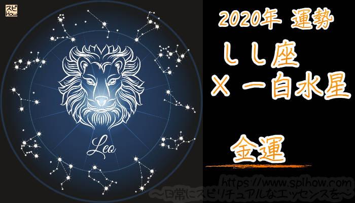 【金運】しし座×一白水星【2020年】のアイキャッチ画像