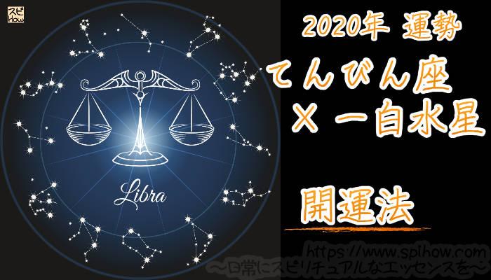 【開運アドバイス】てんびん座×一白水星【2020年】のアイキャッチ画像