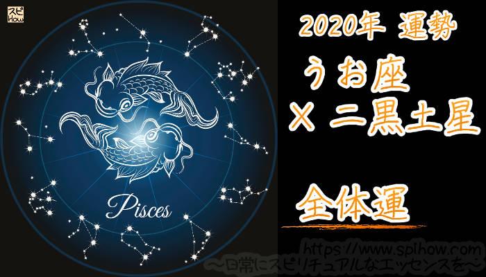 【全体運】うお座×二黒土星【2020年】のアイキャッチ画像