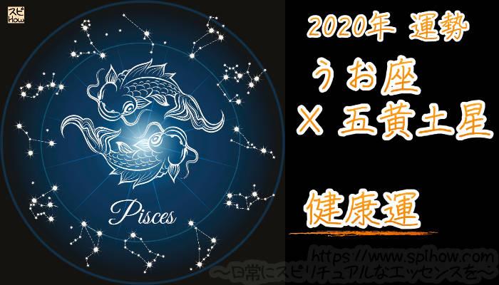 【健康運】うお座×五黄土星【2020年】のアイキャッチ画像