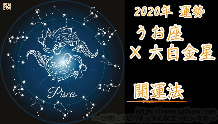 【開運アドバイス】うお座×六白金星【2020年】のアイキャッチ画像