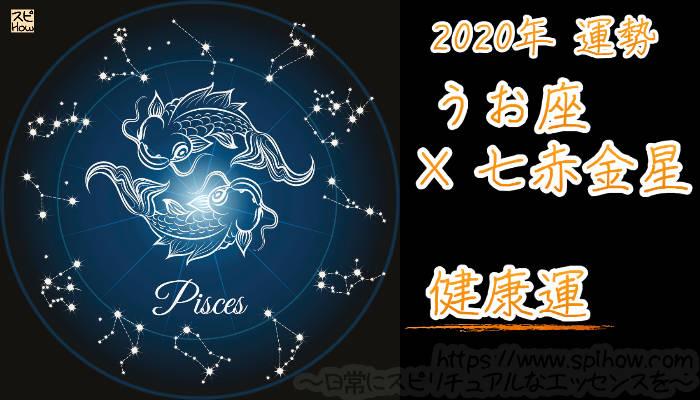 【健康運】うお座×七赤金星【2020年】のアイキャッチ画像