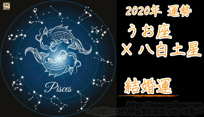 【結婚運】うお座×八白土星【2020年】のアイキャッチ画像