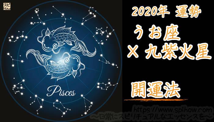 【開運アドバイス】うお座×九紫火星【2020年】のアイキャッチ画像