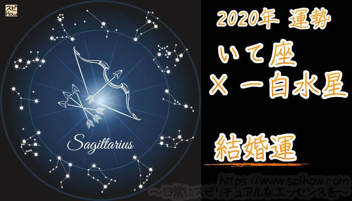 【結婚運】いて座×一白水星【2020年】のアイキャッチ画像