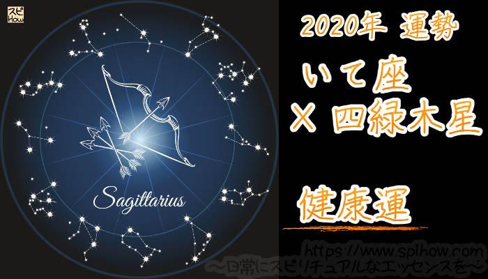 【健康運】いて座×四緑木星【2020年】のアイキャッチ画像