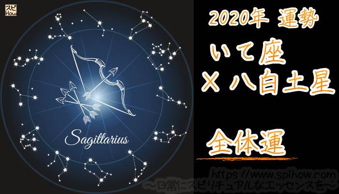 【全体運】いて座×八白土星【2020年】のアイキャッチ画像