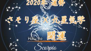【さそり座×九星気学】2020年の運勢を星占いと九星気学で知る方法のアイキャッチ画像
