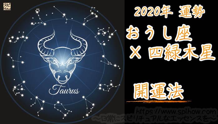 【開運アドバイス】おうし座×四緑木星【2020年】のアイキャッチ画像